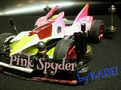 ピンクスパイダー
