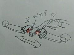 可変スラスト変形機構連動スライドFダンパー