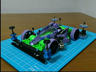 ar アズール green&purple