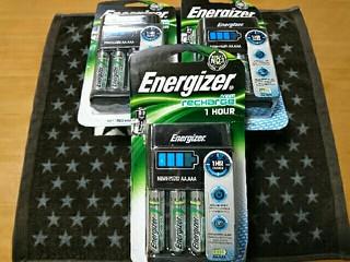 エナジャイザー充電器セット(1時間チャージャー)UK仕様[2016/12/25]