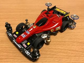 フェラーリもどきのフレイムアスチュート