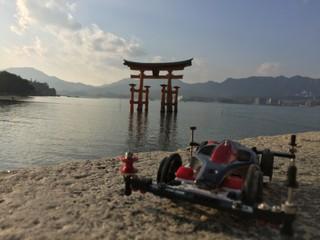 広島観光withフラットマシン