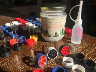 Coconut Oil - perfect cutting lubricant