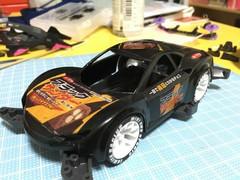 黒いライキリ ブラックサンダー