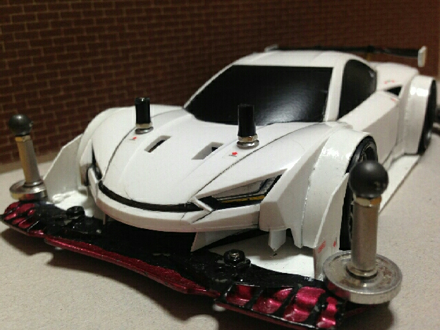 GTカーぽく