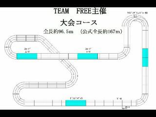 1月22日(日)第4回TEAM FREE杯 ミニ四駆大会告知