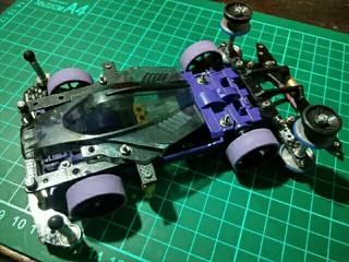 Purple MS with inner suspensi