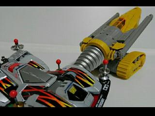 サンダーバードリアルキット01 ジェットモグラ