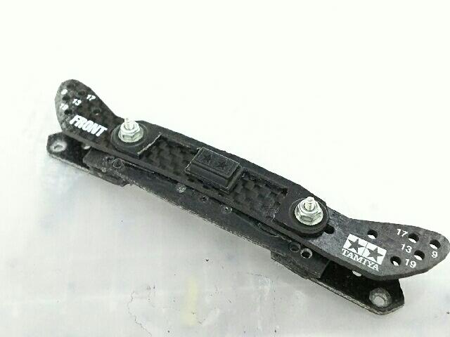 フロントワイドスライドダンパー用カーボンステー2ミリ