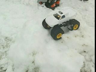 雪ダルマの積もりが