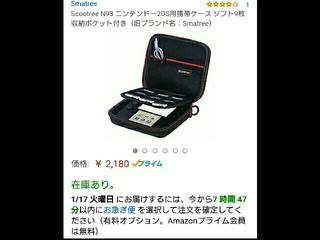 2DS専用衝撃吸収ケース