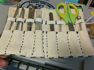 手作り工具袋