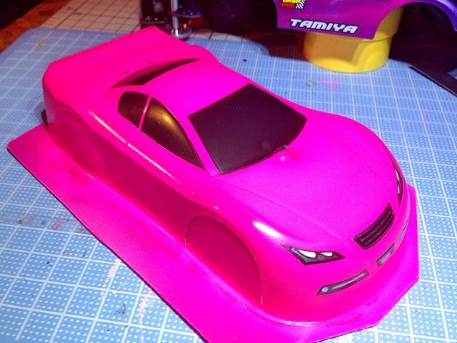TRF Jr 2台目 塗装完了!