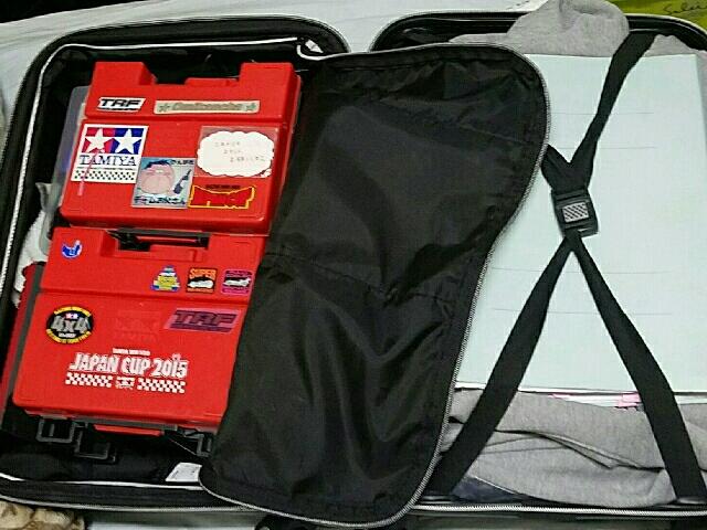 スーツケース(笑)