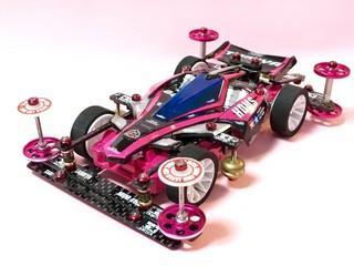 黒×ピンク ニバンテちゃん 4号機