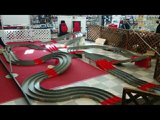 本日のJMS厚別通り店のミニ四駆コース