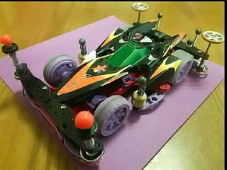 TZ-X強化シャーシ・ブラックストーカーボディ
