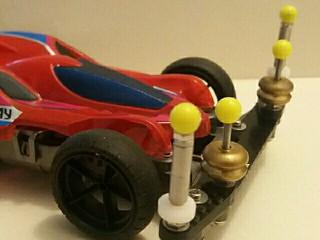 mini 4wd pro ms chassis Evo.I