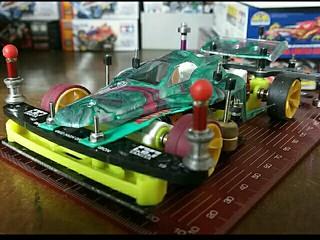 スプリング ステップサーキット試作機