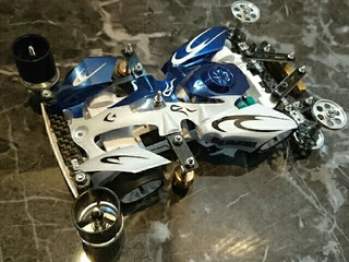 WHITE/BLUE - BUCK BLADER - S2