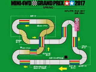 タミヤミニ四駆スプリング2017