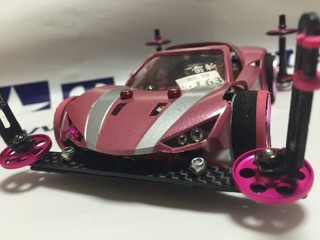 Battle RAIKIRI pink metallic !