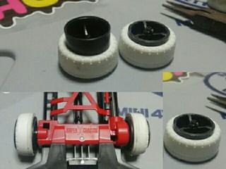 スーパX・XX小径カーボンナローホイール&オフセットトレッドタイヤ