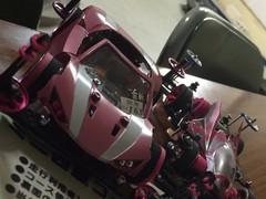 Battle RAIKIRI pink metallic !