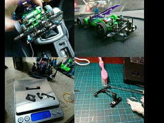 VS new rear flex damper set