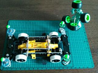 レース用マシンユニット試作品