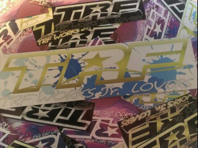 TRFworksJr LOVERS2015 sticker