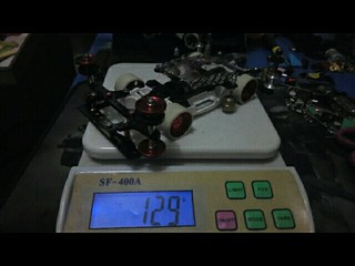 MA chassis weight reduction