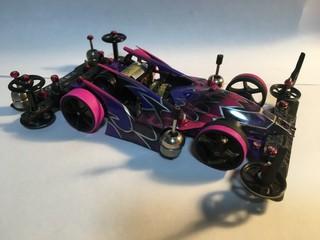 サンダーショットmk2 スプリング仕様 紫VS