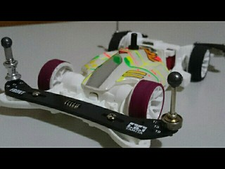 白強化ARテスト車両
