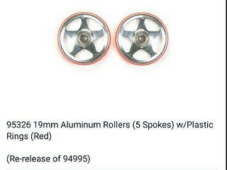 re-release 19mm rollers