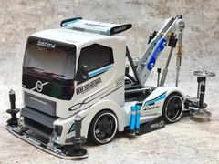 ヒートエッジ「完成版レーシングレッカー車」