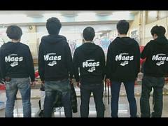 Maesパーカー完成!!
