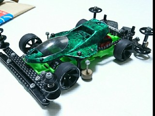 VSヒクオ (サンダーショットjr緑)