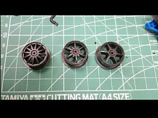 six spokes low profile wheels