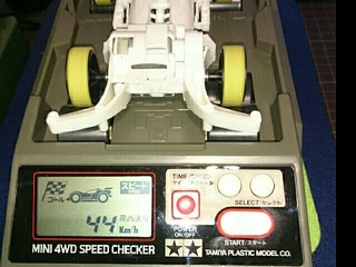 mini4WD SPEED CHECKER