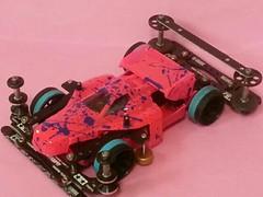 スプラチュート ピンク×ムラサキ