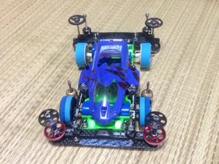 岡山スプリング用公式マシン