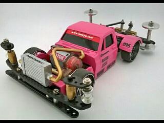 pink rat rod