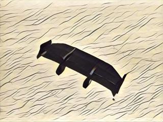 スワンネック型GTウイング
