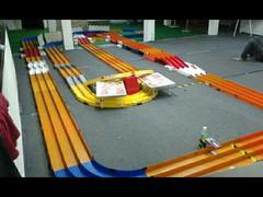 semi speed tabletop funrace