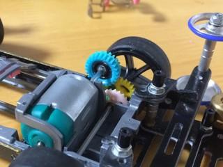 フローティングギヤ加工