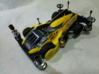 黄色いストラトベクター(3レーン仕様)