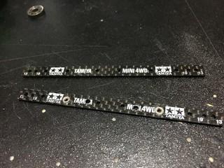 ミニ四駆技法 –ナット埋め込み–