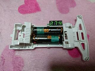 バッテリーチェッカー モーター慣らし
