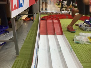 ジャンプとコーナーはこのコースでは安定(^^)